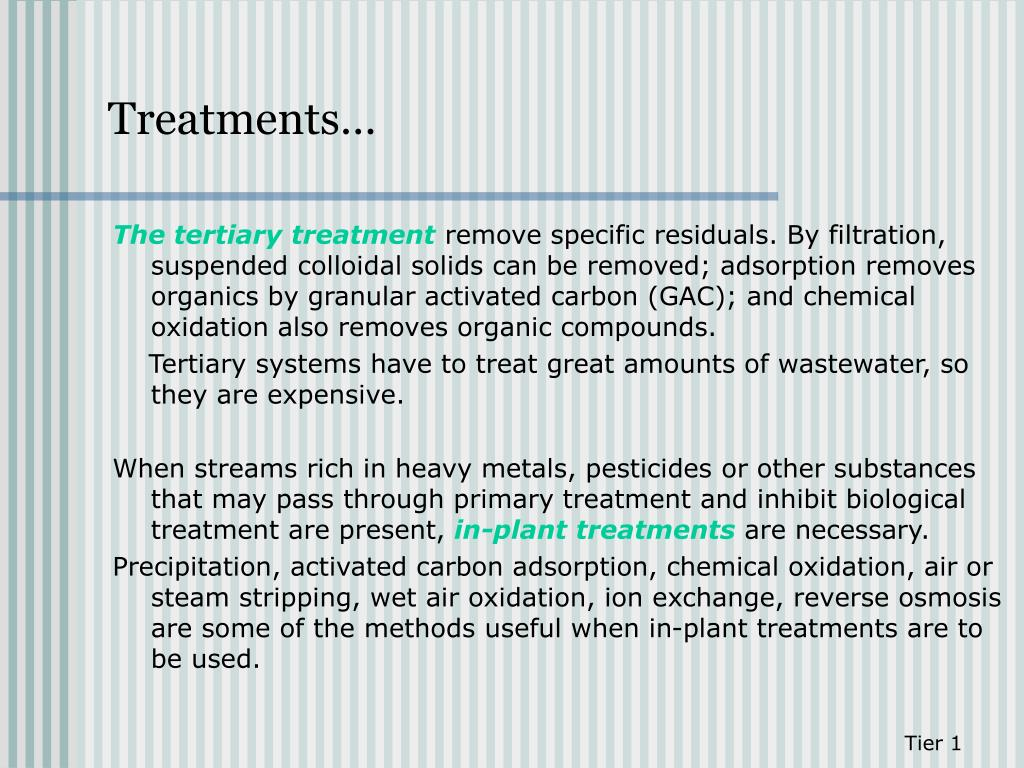 PPT - Module 6: EFFLUENT TREATMENT AND RESIDUALS MANAGEMENT