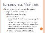 inferential methods12
