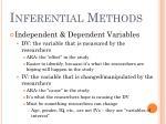 inferential methods7