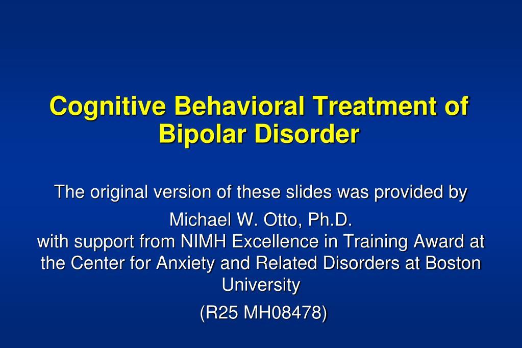 bipolar disorder case study ppt