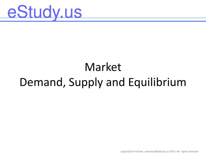 market demand supply and equilibrium n.