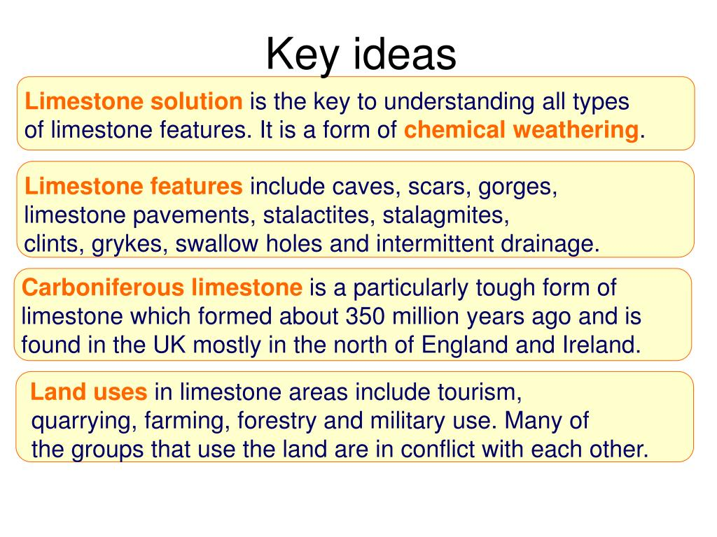 PPT - What is limestone and how is it formed? PowerPoint