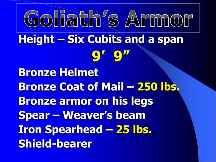 Goliath's Armor