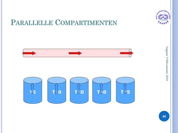 Parallelle Compartimenten