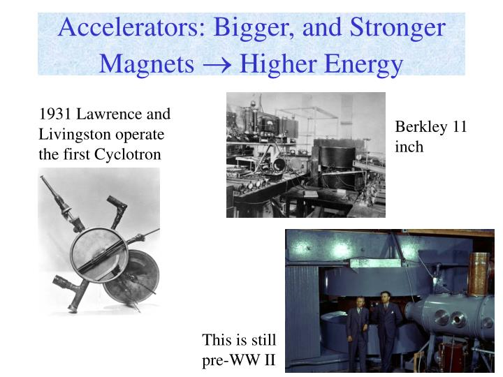 Accelerators: Bigger, and Stronger Magnets