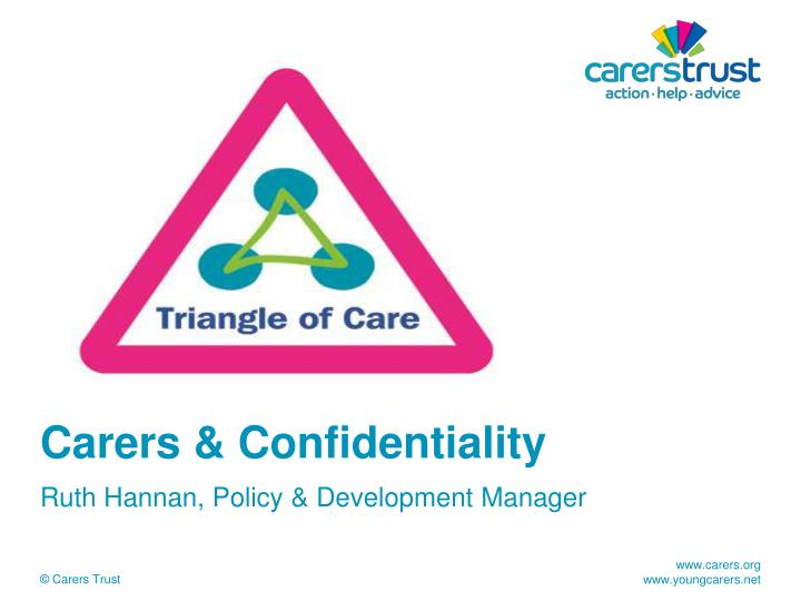 Carers confidentiality