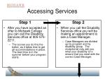 accessing services