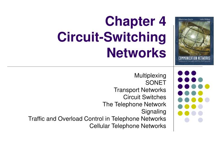 chapter 4 circuit switching networks n.