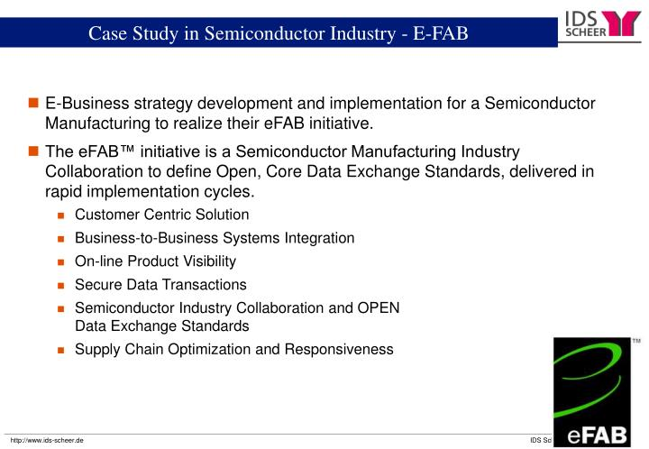 Chartered Semiconductor Manufacturing - eFAB