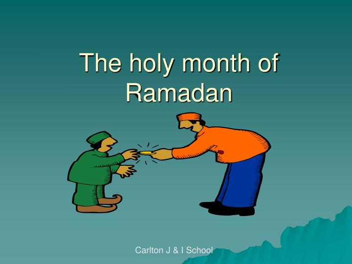 the holy month of ramadan n.