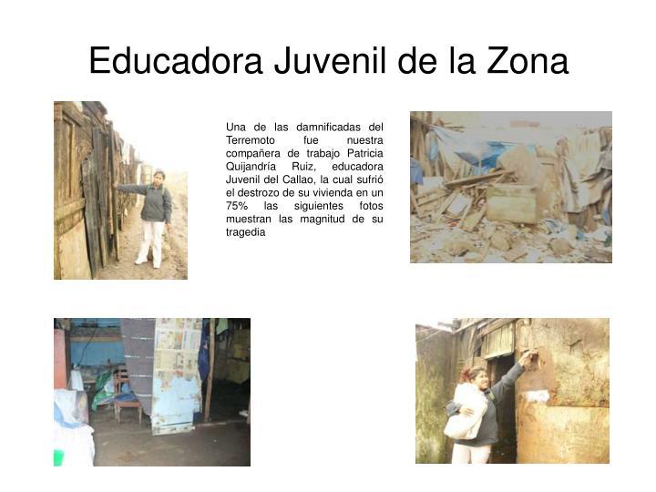 Educadora Juvenil de la Zona