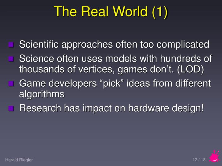 The Real World (1)