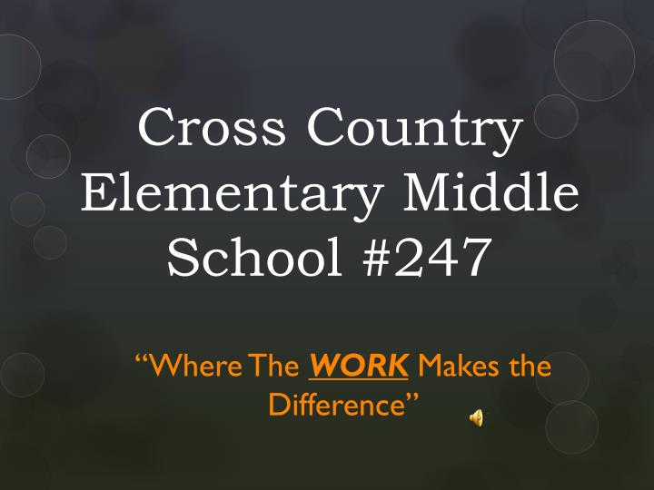 cross country elementary middle school 247 n.