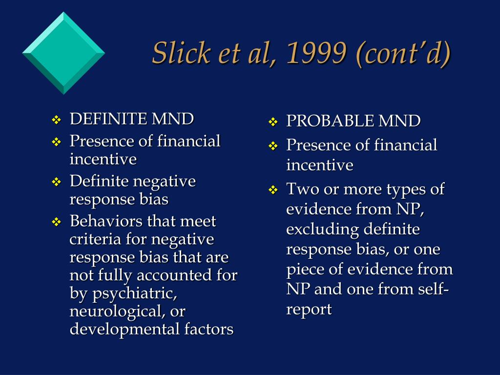 Ppt Forensic Neuropsychology In Personal Injury Cases Ii Powerpoint Presentation Id 1828182