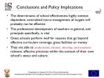 conclusions and policy implications2