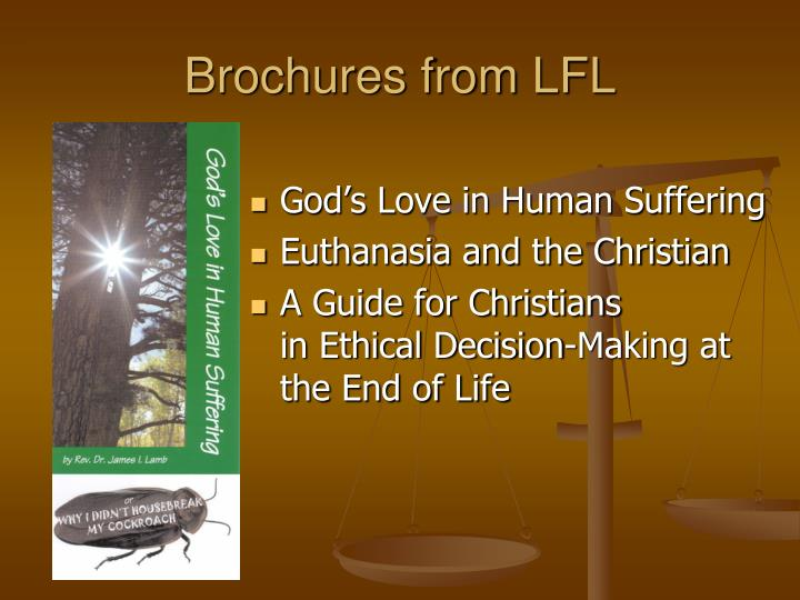 Brochures from LFL