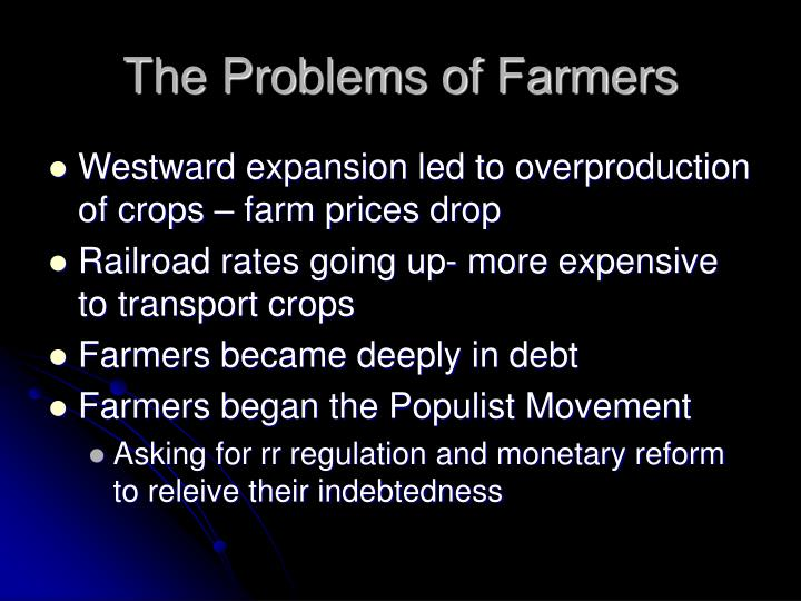 The Problems of Farmers