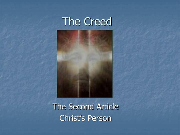 the creed n.