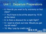 unit 1 departure preparations4