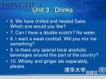 unit 3 drinks3