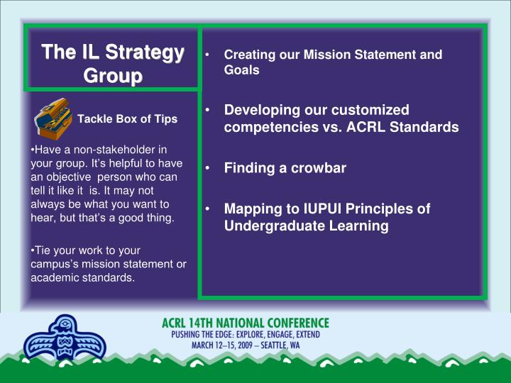 The IL Strategy Group