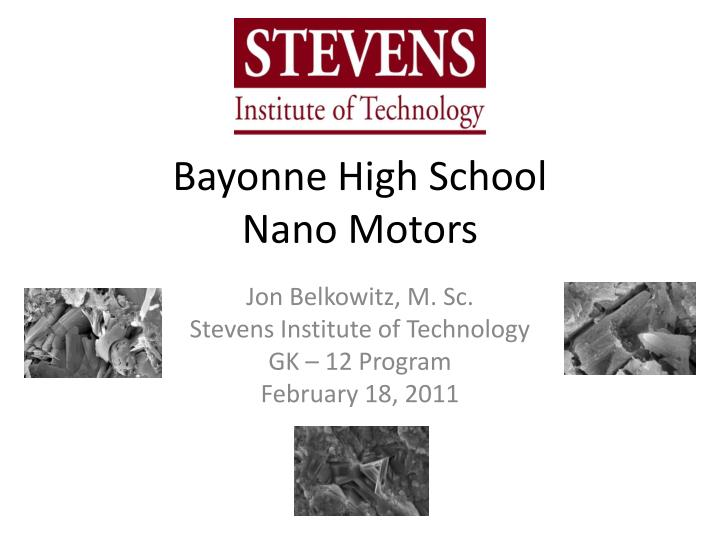bayonne high school nano motors n.