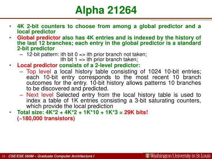 Alpha 21264