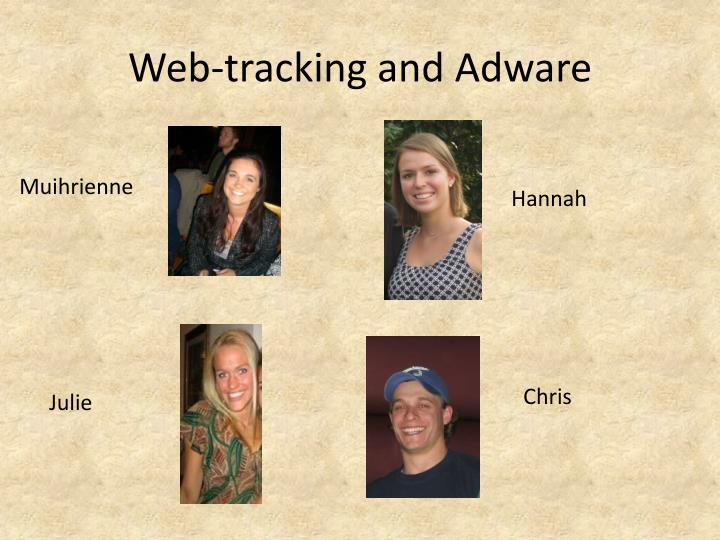 web tracking and adware n.