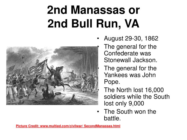 2nd Manassas or