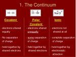 1 the continuum1