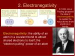 2 electronegativity