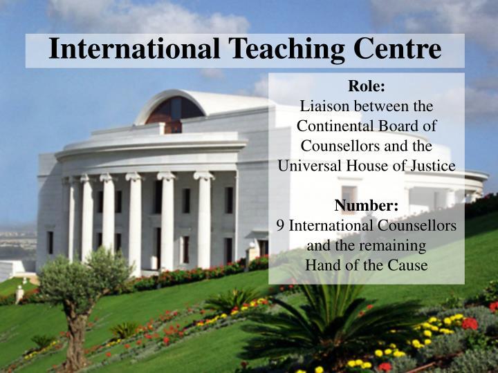 International Teaching Centre