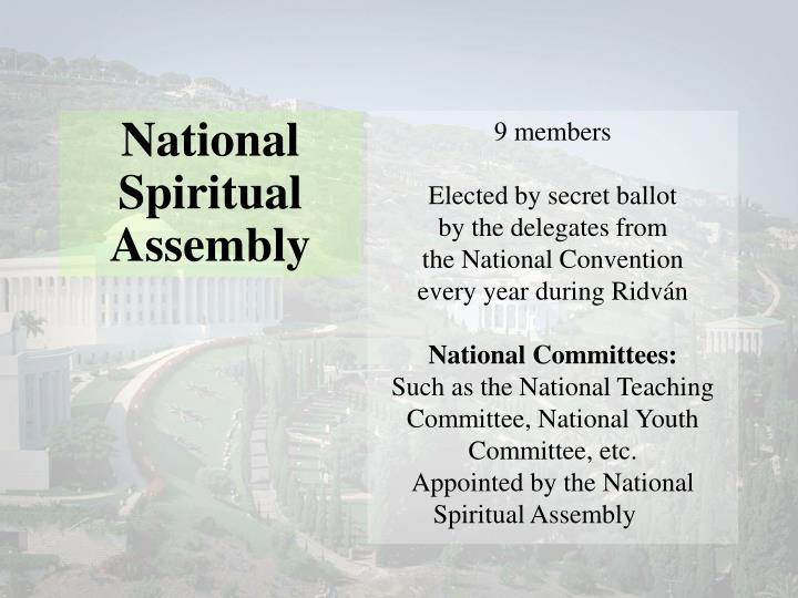 National Spiritual Assembly