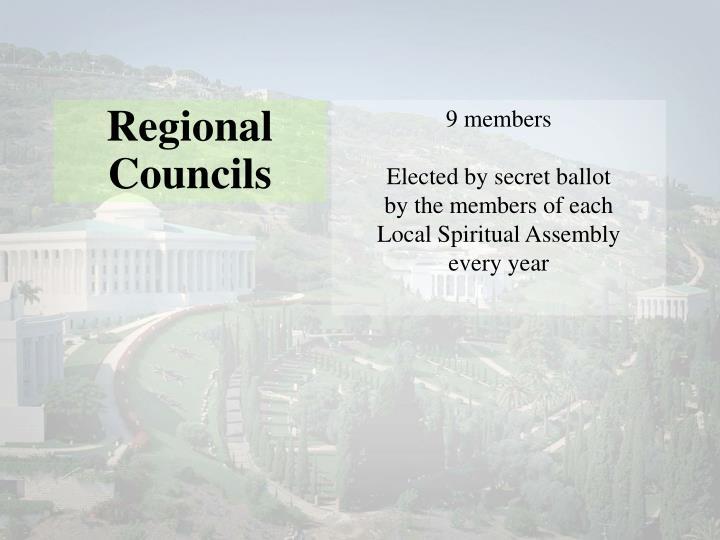 Regional Councils