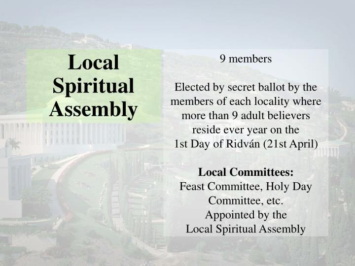Local Spiritual Assembly