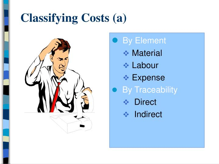 classifying costs a n.