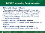 impact improving communication2