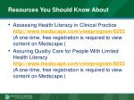 resources you should know about