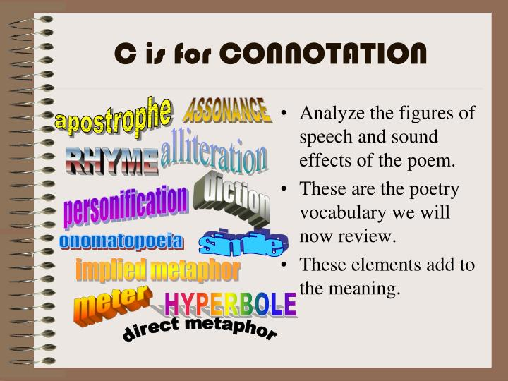 Analyze the figures of speech and sound effects of the poem.