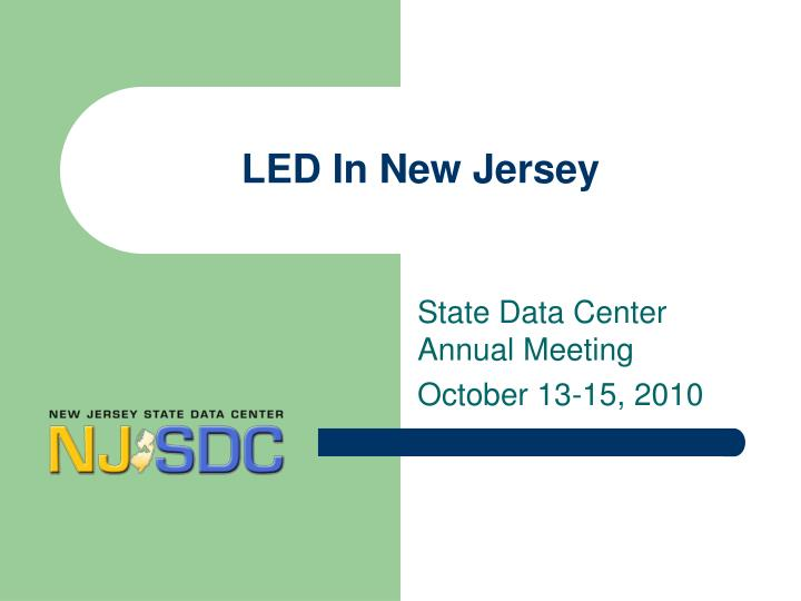 led in new jersey n.