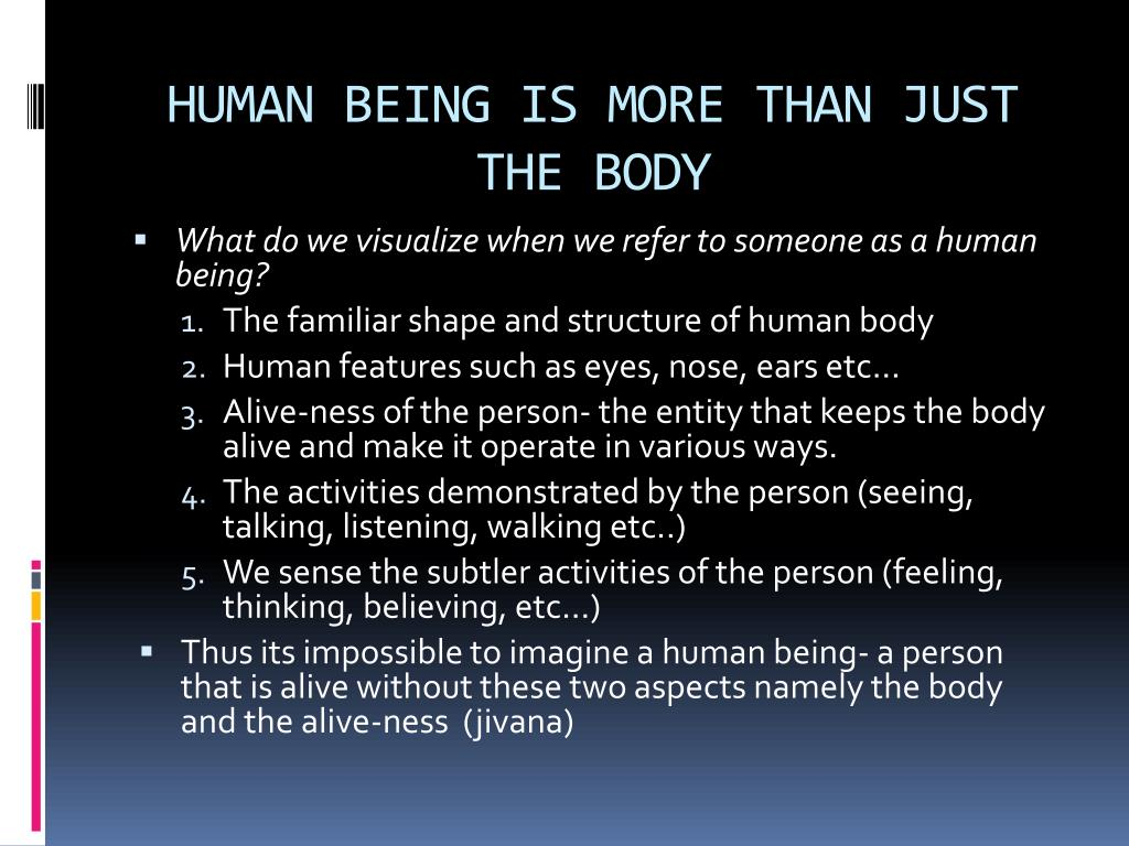 PPT - Harmony in the Human Being Understanding Human being ...