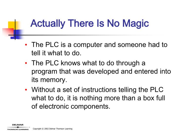 Actually There Is No Magic