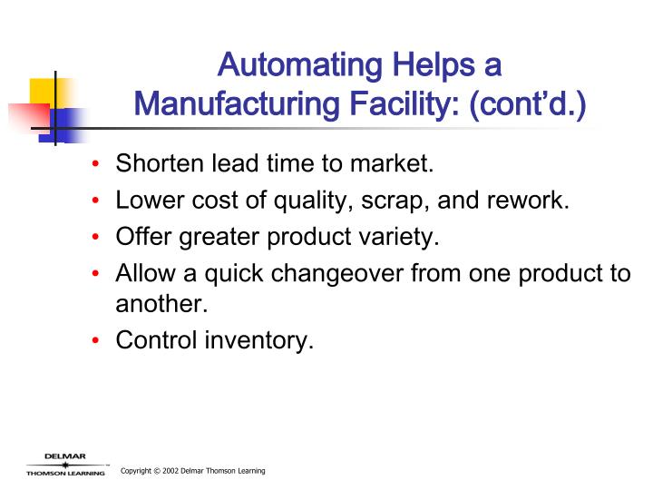 Automating Helps a