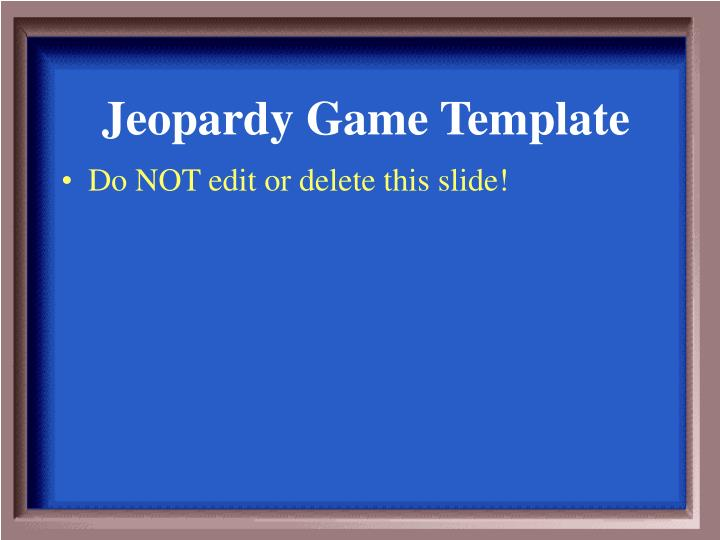 jeopardy game template n.