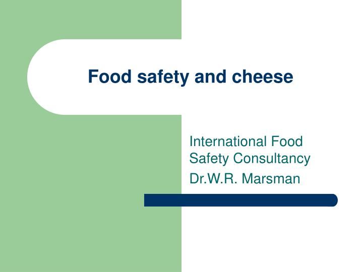 food safety and cheese n.