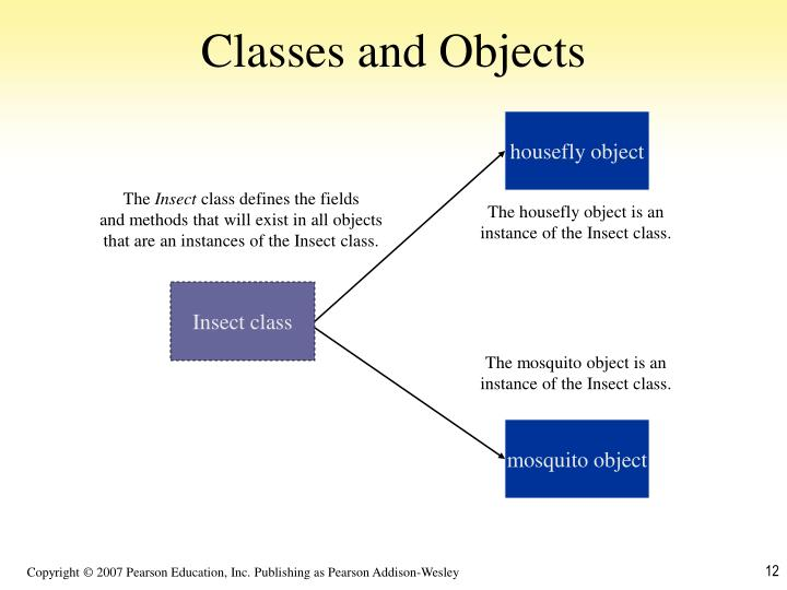 Classes and Objects