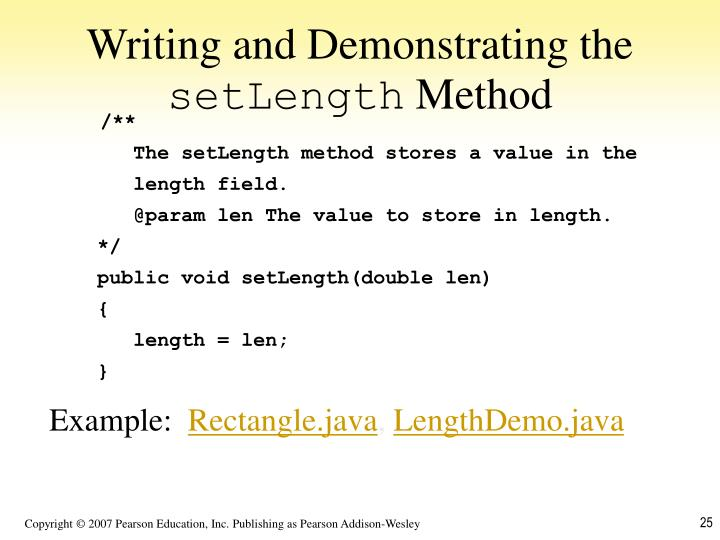 Writing and Demonstrating the