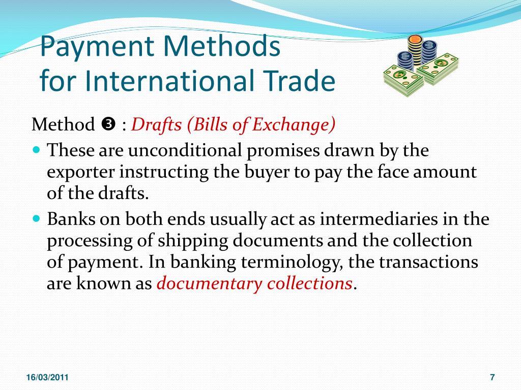 PPT - Financing International Trade PowerPoint Presentation