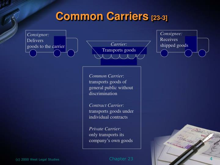 Common Carriers