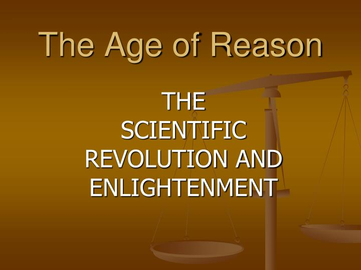 the age of reason n.